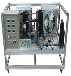 멀티 컴프레서 냉동 시스템 교육 장비 (Multi Compressor Rack Refrigeration System Trainer)